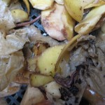 Wormery kitchen waste