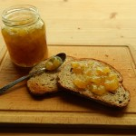 Recipe; Courgette, Ginger and Lemon Jam